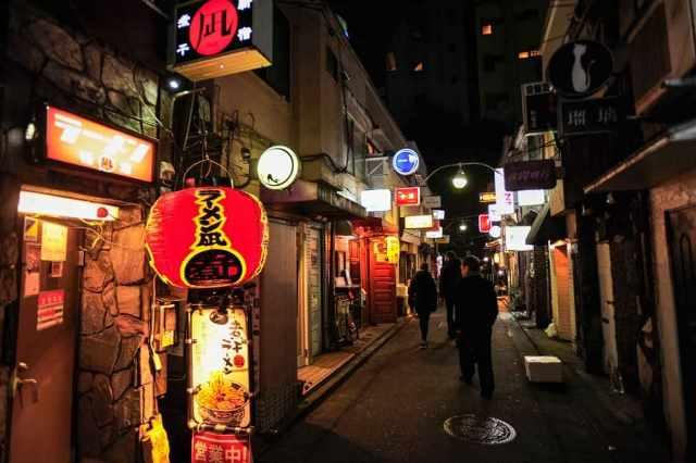 ночная жизнь Токио