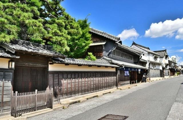 старинная японская улочка